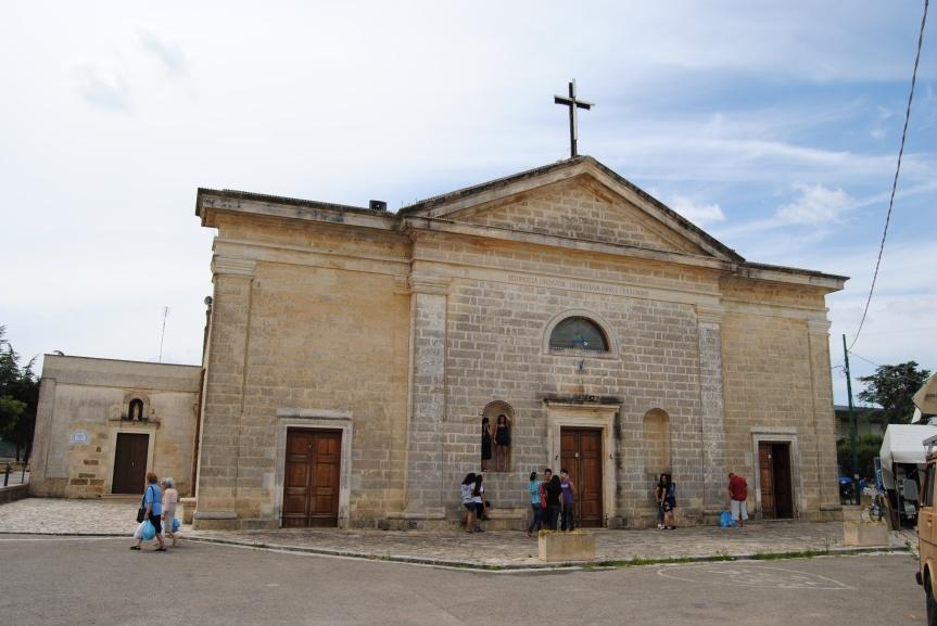Il santuario di San Rocco aTorrepaduli